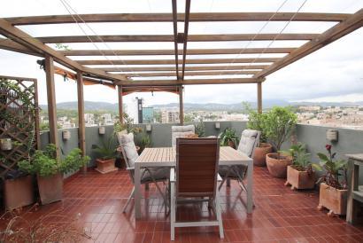 Ático dúplex con terraza y garaje, 4 dormitorios y vistas panorámicas Son Armadans Palma.