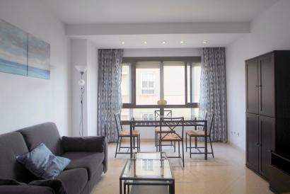 Möblierte Wohnung mit 2 Schlafzimmern und Aufzug, General Riera Bereich, Palma