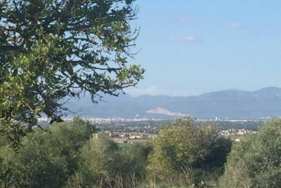 Country building plot of 77,648 m² in Son Gual area with building license, Palma.