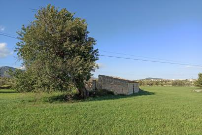 Rustic property with a house to renovate and extend in Campanet.