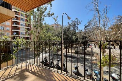 Amplio apartamento de 3 dormitorios, amueblado, terraza, parking, Son Dameto.